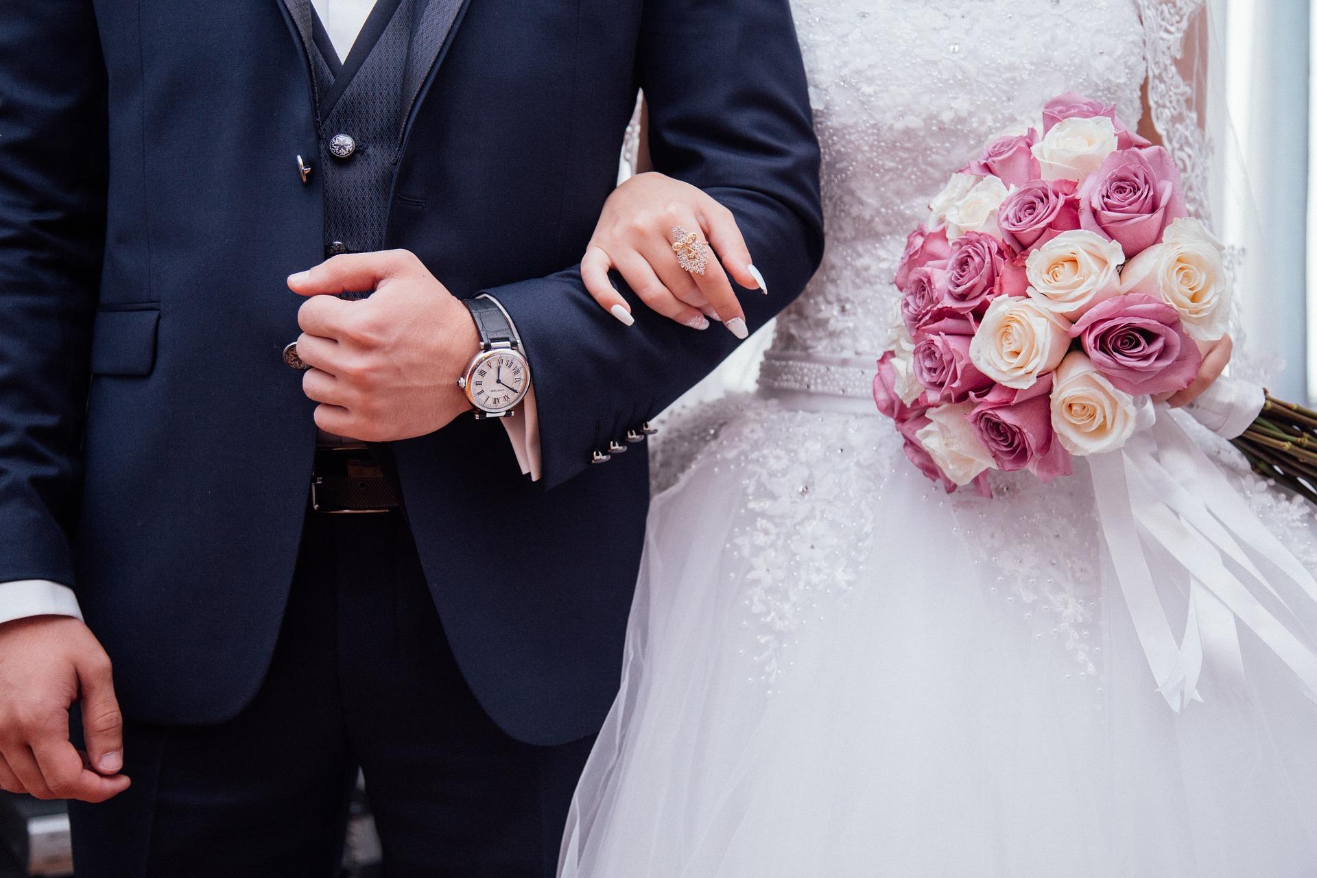 Temporäre Hochzeitspages