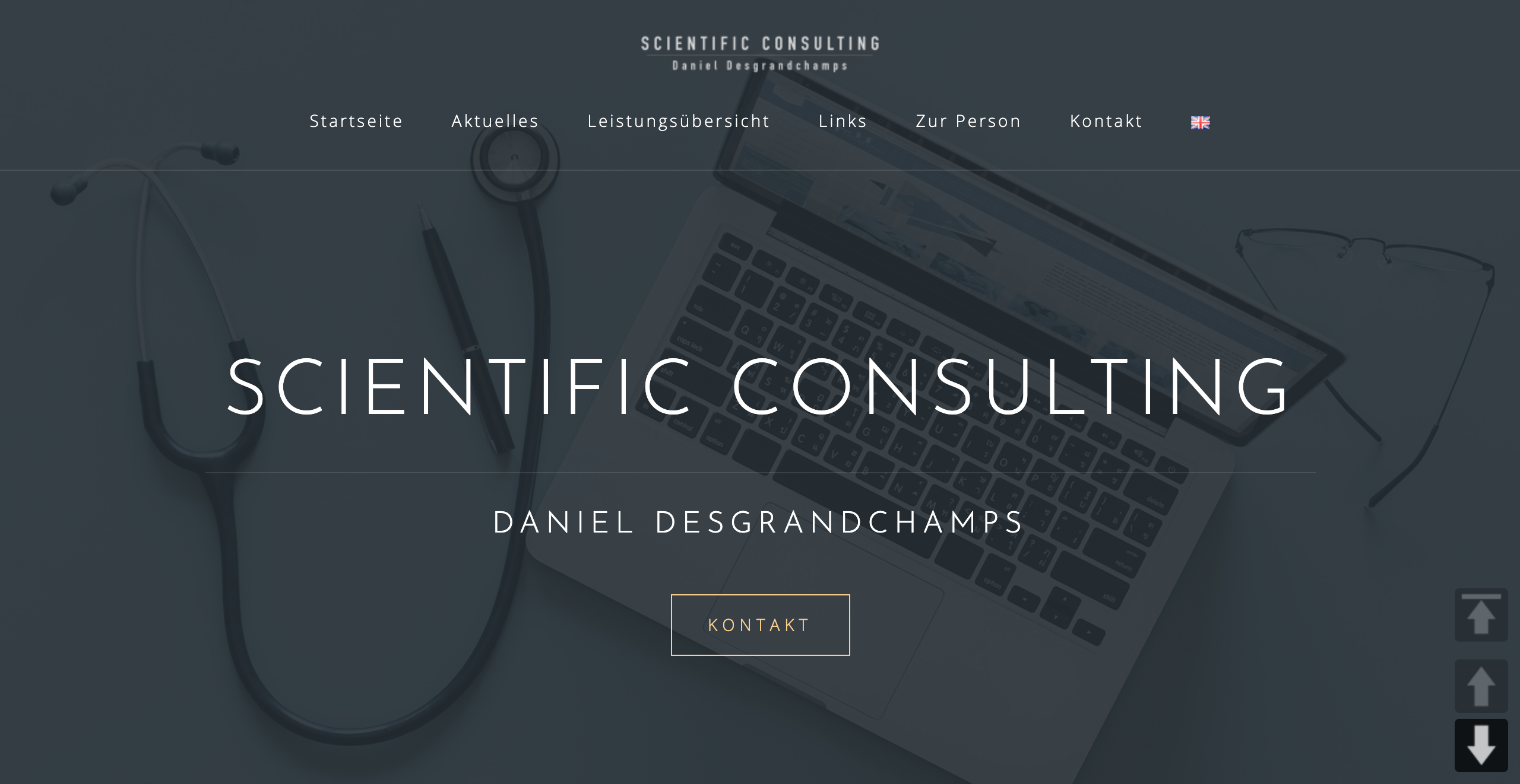 Scientific Consulting Daniel Desgrandchamps